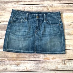 CITIZENS OF HUMANITY denim mini skirt size 26